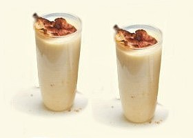 milk-shake, céleri et bacon